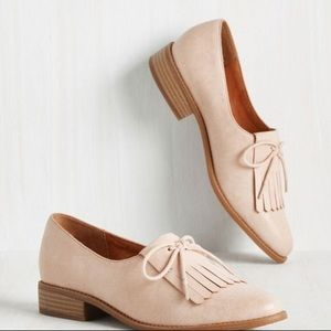Flash oxford loafers in NUDE